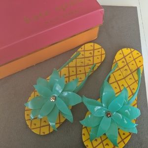 ♠️ Kate Spade Pineapple 🍍 sandals *NEW